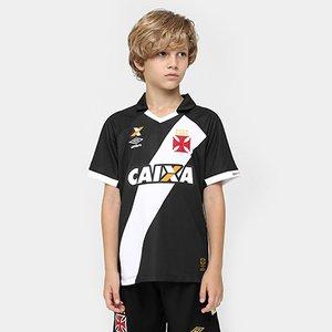 Camisa Umbro Vasco I 15 16 nº 10 Juvenil c51901db9cc81