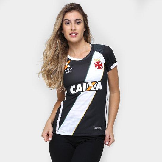 c393e71440 Camisa Feminina Umbro Vasco I 16 17 s nº - Compre Agora