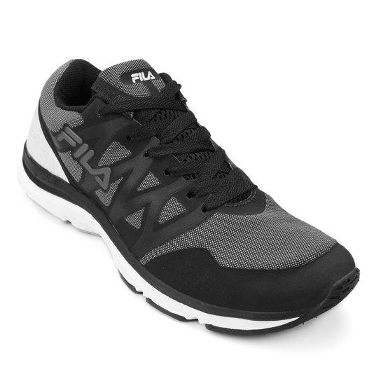 420f08f3ef Tênis Fila Fxt Plus Feminino - Preto e Branco - Compre Agora
