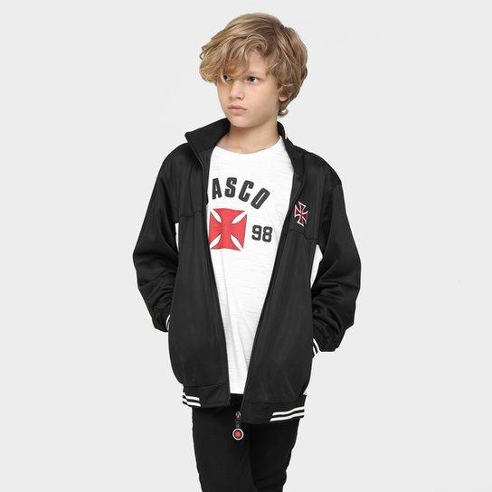 60b3ea56ac Jaqueta Vasco Trilobal Juvenil - Compre Agora