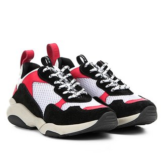 025a5ea58d Tênis Chunky Carmim Dad Shoes Maya Feminino