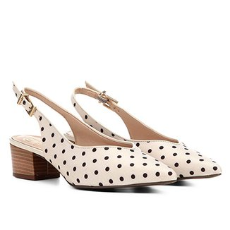 c17157d76 Scarpins Dumond Feminino Bege - Calçados   Zattini