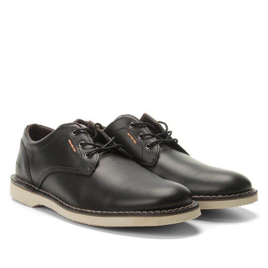 f963085b1d6 Sapato Casual Couro Kildare Filey - Preto e Bege - Compre Agora ...