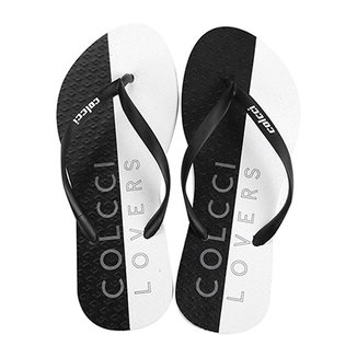 e99d8355217 Chinelo Colcci Estampa Lovers Feminina