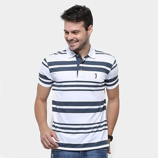 c392f08e0e Camisa Polo Aleatory Fio Tinto Listrada Masculina