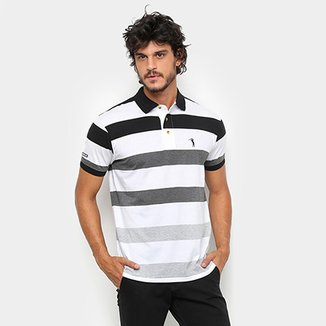 Camisa Polo Aleatory Fio Tinto Listrada Masculina be6cf0fa1d8e1