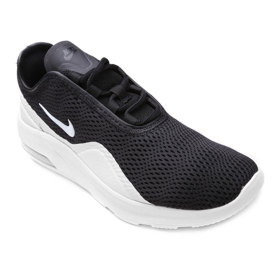 Tênis Nike Wmns Air Max Motion Feminino - Preto e Branco - Compre ... 72a1622b0d8f9