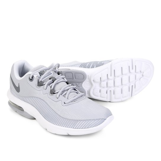 reputable site 84025 886b9 Tênis Nike Air Max Advantage 2 Feminino - Cinza e Branco | Zattini