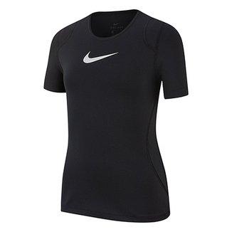 3954cd3a16 Camiseta Infantil Nike Top SS Feminina
