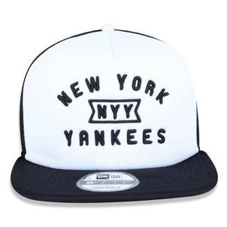 Boné New Era Snapback New York Yankees Core Trucker ae94aaaeb14