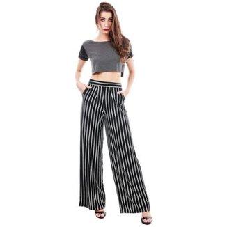 6b06722d03 Calça Pantalona Jogabe Feminina