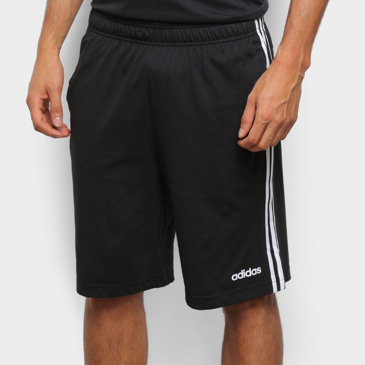 Short Adidas E 3 Stripes SJ Masculino