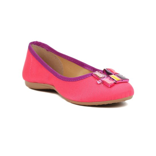 a6be84d1ce Sapatilha Infantil Para Menina Barbie Logomania Lilás rosa - Rosa+Lilás