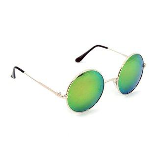 8d323f1716e Óculos Bijoulux de Sol Redondo Espelhado