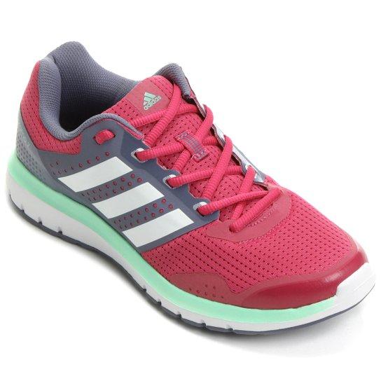 55892452298 Tênis Adidas Duramo 7 Feminino - Rosa e Lilás - Compre Agora