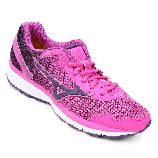 Tenis Mizuno Brave 2 N Feminino - Rosa e Lilás - Compre Agora  0739e789eac7e