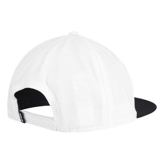 Boné Nike Aba Reta SB Icon - Branco e Preto - Compre Agora  faf09ffcb4f