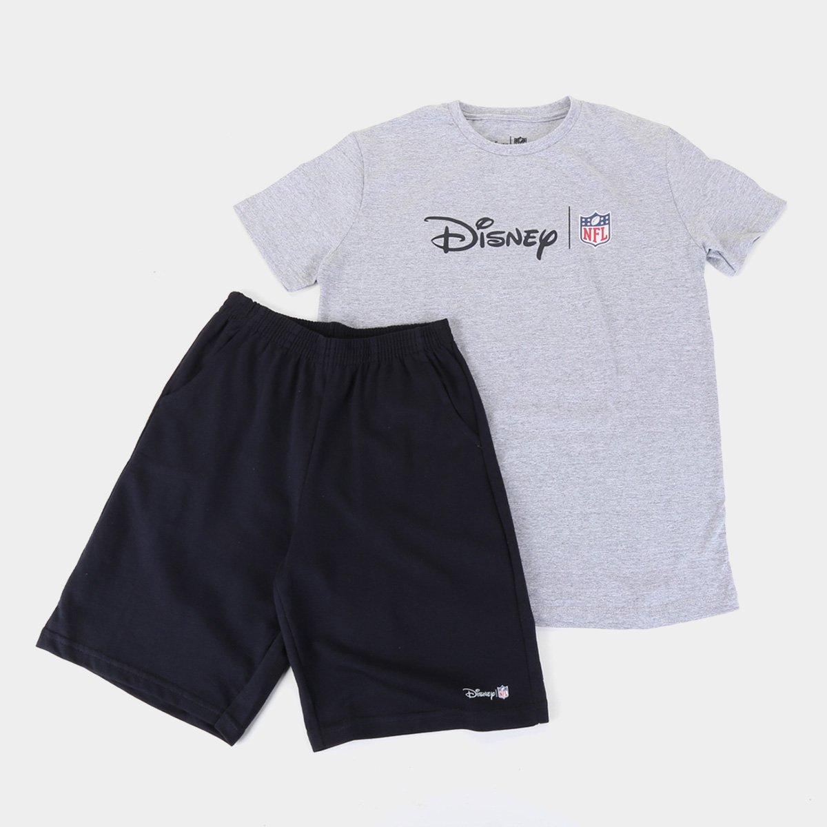 Conjunto Juvenil NFL Disney Masculino
