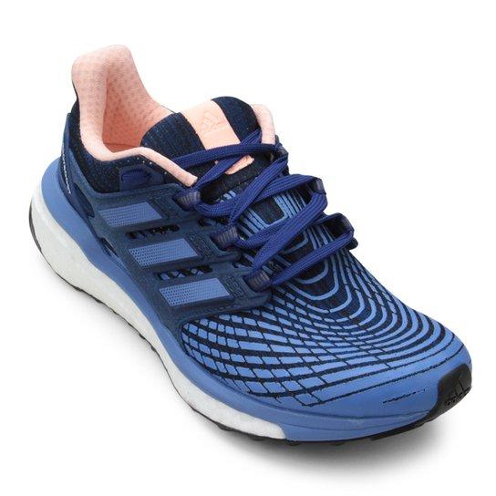 28c060534 Tênis Adidas Energy Boost Feminino - Azul+Lilás