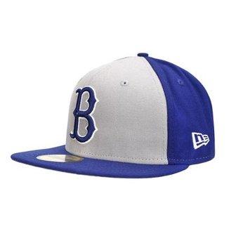 ad63cd4bf1095 Boné New Era 5950 Customizer Brooklyn Dodgers