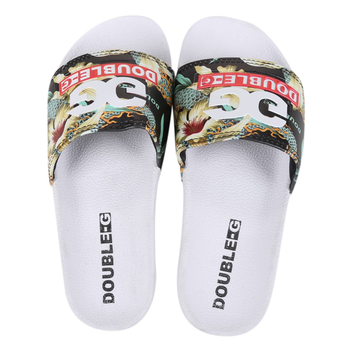 Chinelo Slide Qix I Double-G