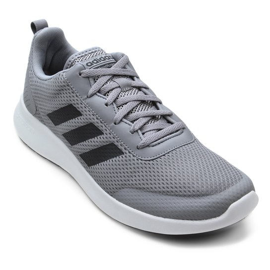 6753087587 Tênis Adidas CF Element Race Masculino - Cinza e Preto - Compre ...