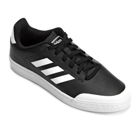 db3c13d3c Tênis Adidas Retro Court Wild Card Masculino - Branco e Preto ...