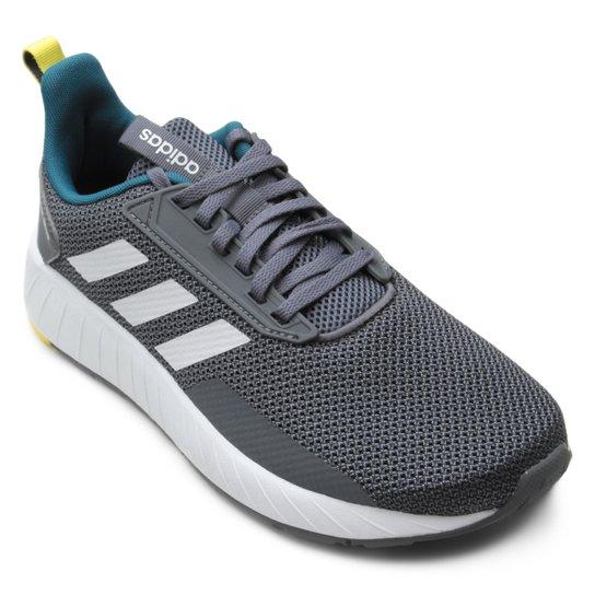 0e0b975e0d3 Tênis Adidas Questar Drive M Masculino - Grafite e Branco - Compre ...