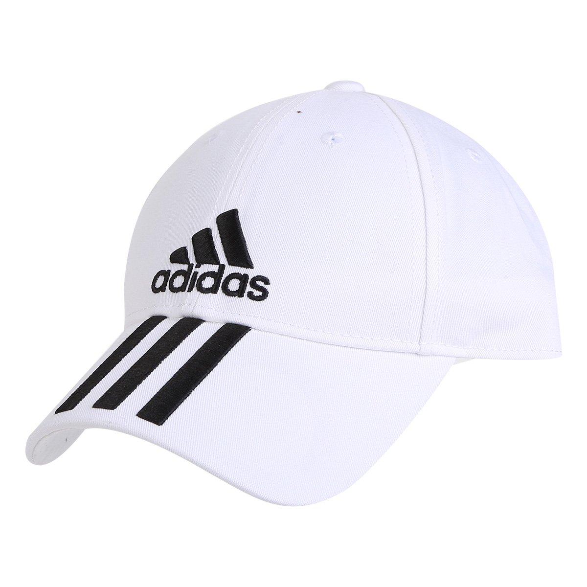 5e6040dce79b5 Boné Adidas Ess 3 Stripes Cotton Aba Curva | Livelo -Sua Vida com ...
