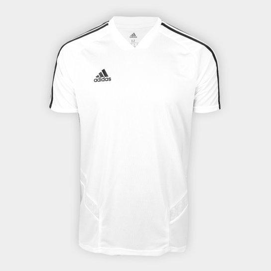 78969018d5 Camisa Tiro 19 Adidas Masculina - Branco e Preto