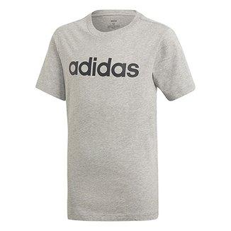 8745ae47e2 Camiseta Infantil Adidas Estampa Logo YB LIN TEE Masculina