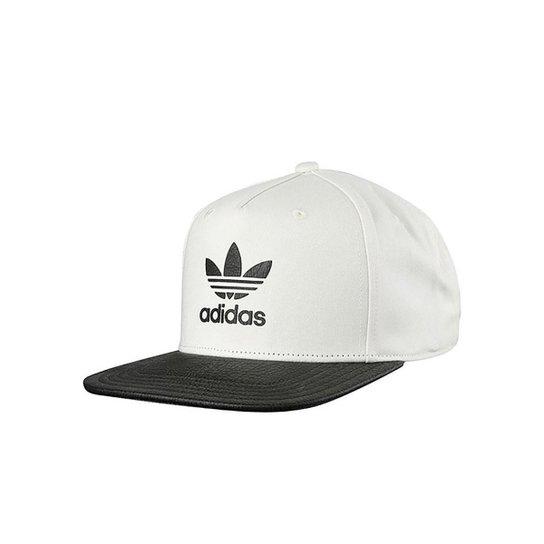 07f50f8f7e Boné Adidas Snapback Originals Ori Animal - Branco+Preto