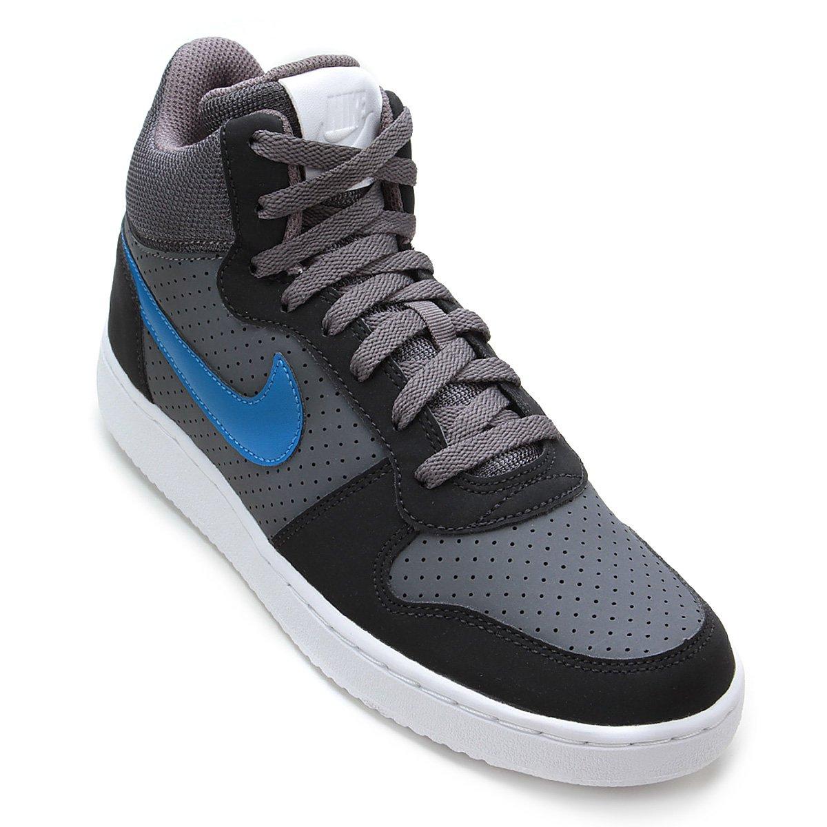0b8b2c9f71c39 Tênis Couro Cano Alto Nike Recreation Mid Masculino