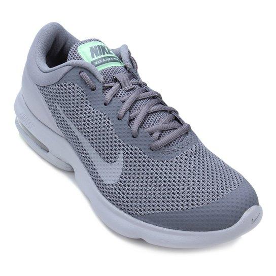 58b0533f342 Tênis Nike Air Max Advantage Masculino - Cinza e Preto - Compre ...