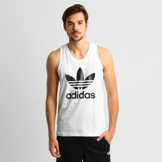 Camiseta Regata Adidas Originals Trefoil - Compre Agora  305f4920eaf