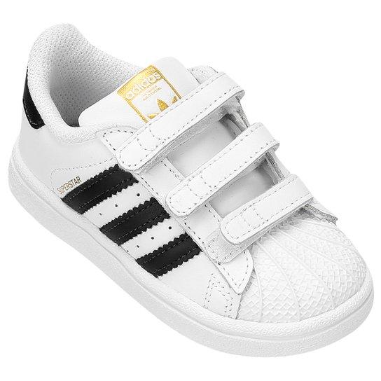 Tênis Adidas Star Foun CF Infantil - Compre Agora  8ad89c9e9f0fa
