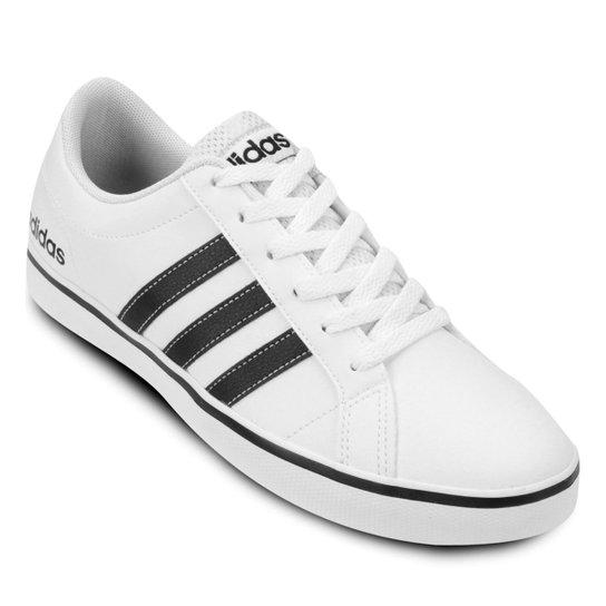 Tênis Adidas Pace Vs Masculino - Branco e Preto - Compre Agora  033513636160c