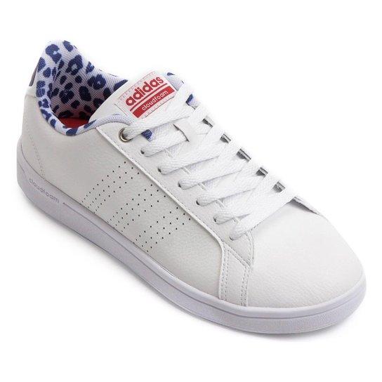 9c8eb2cff3b Tênis Couro Adidas Cf Advantage Clean Feminino - Compre Agora