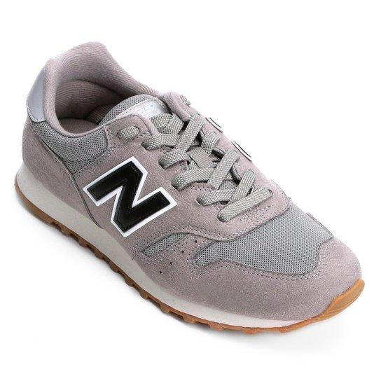 5531a27a26eeb Tênis New Balance 373 Core Masculino - Cinza e Preto | Zattini