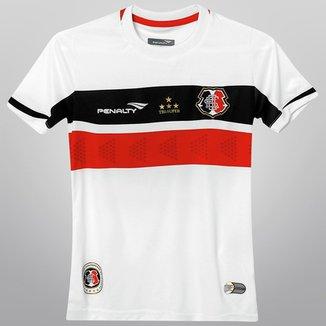 Camisa Penalty Santa Cruz II 2015 nº 10 Juvenil 40cd18182ab62
