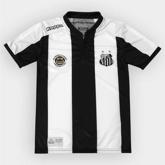 Camisa Santos Infantil II 2016 s nº - Torcedor Kappa - Compre Agora ... 9e246a11bd58c