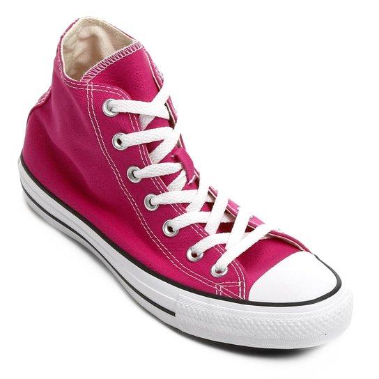 58cc73b3c3 Tênis Converse Chuck Taylor All Star Hi Seasonal - Pink - Compre ...