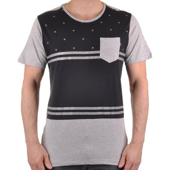 Camiseta Oakley Skull-O Sp Masculino - Cinza e Preto - Compre Agora ... a35828e22b3