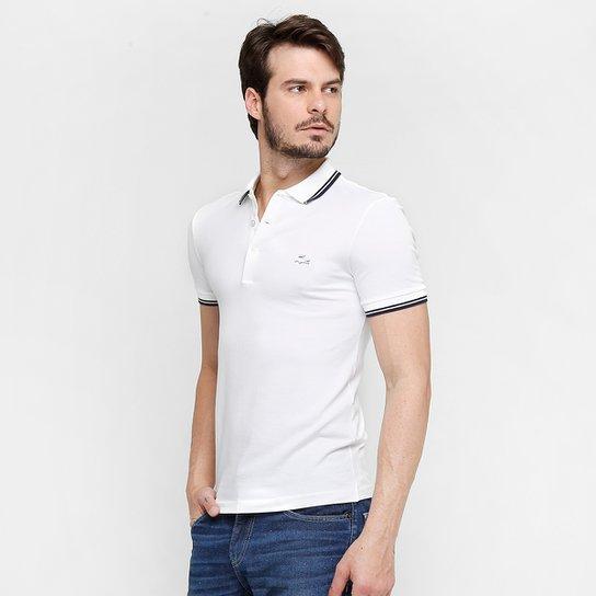 21a4116fb Camisa Polo Lacoste Piquet Pima Slim Fit - Compre Agora