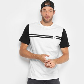 Camiseta Hurley Block Party Masculina 7ac98b1211b
