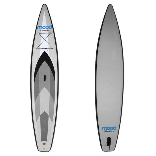 db40310e5 Prancha Stand Up Paddle Mood Inflável Navigator Line 12 pés - Cinza+Preto