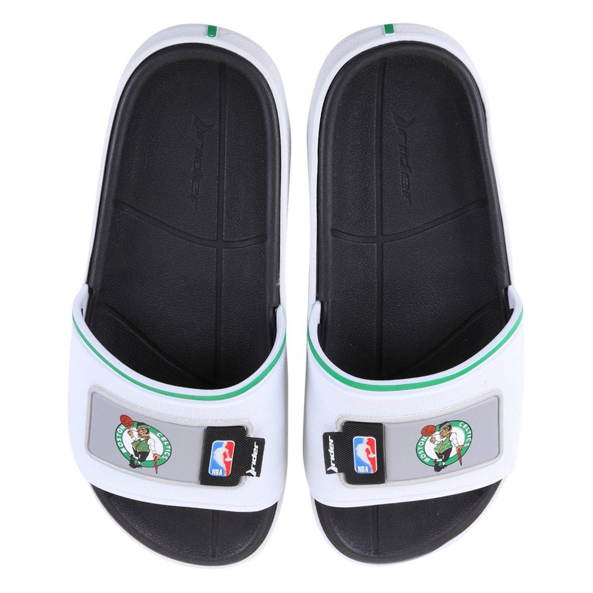 Chinelo Rider NBA Block Slide Ad Boston Celtics Masculino