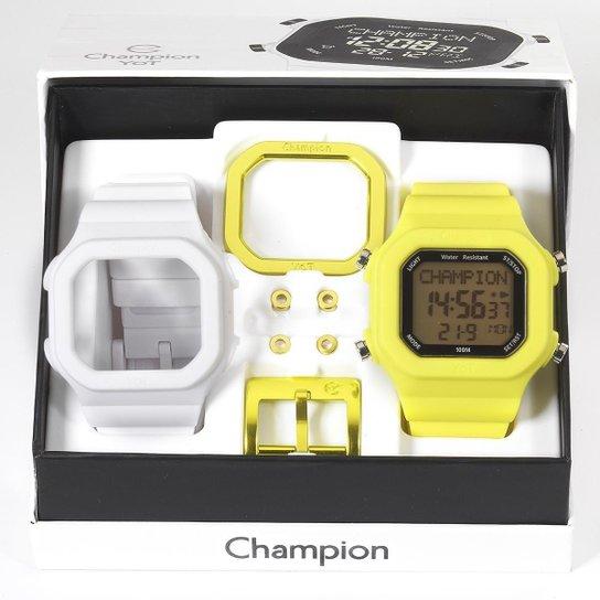 99e138e85da Relógio Unissex Champion Digital Troca Pulseira - Compre Agora