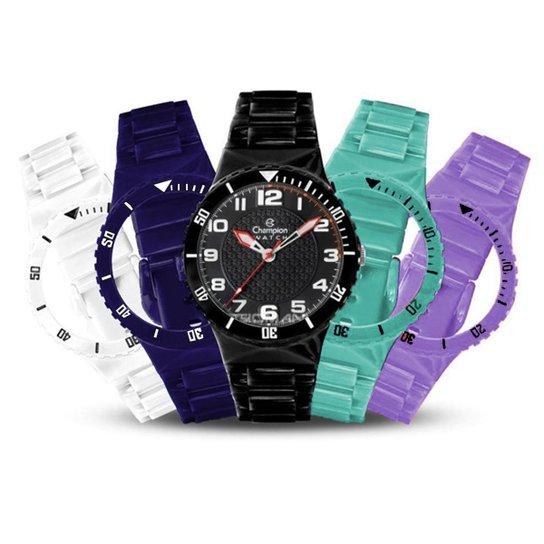 46dbaad0b06 Relógio Unissex Champion Troca Pulseiras Cp38086x - Compre Agora ...