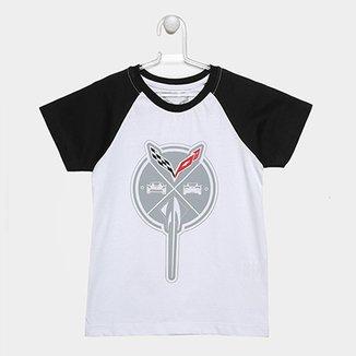 Camiseta Infantil Corvette Raglan Sting c052100f78a66